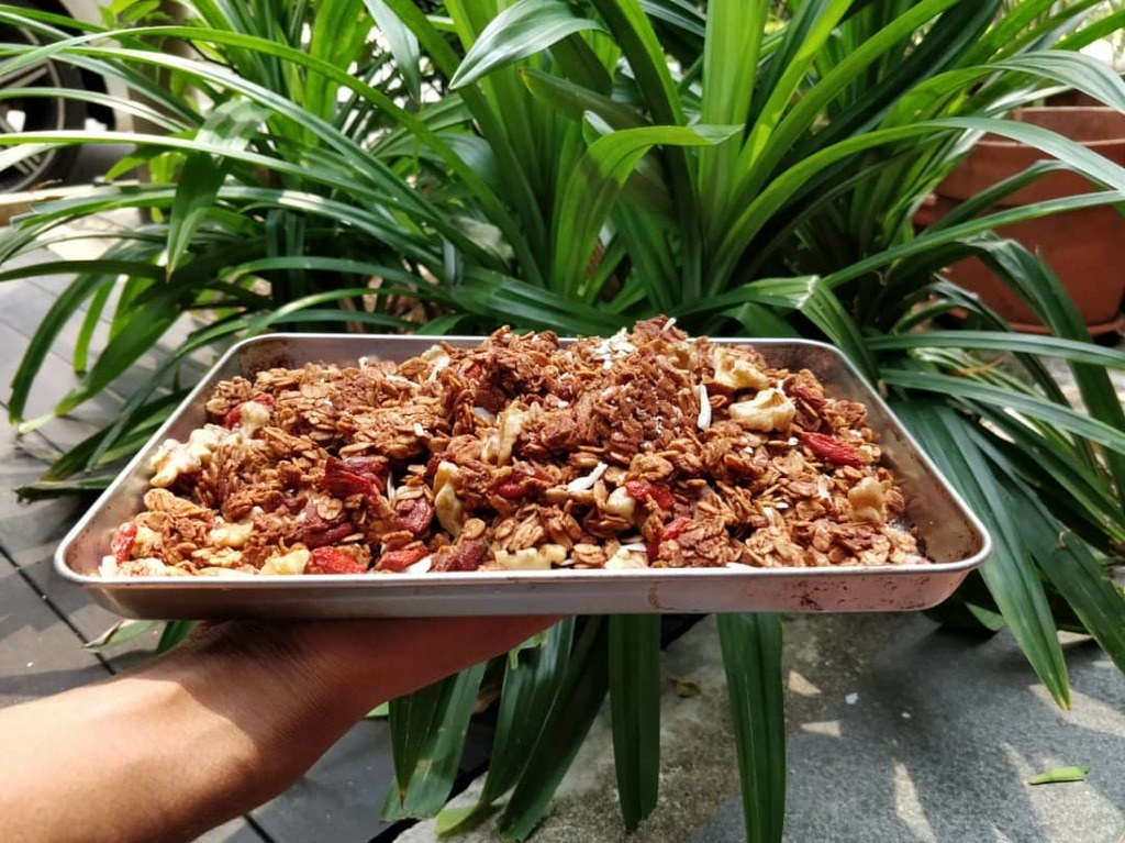 Homemade Nutty Granola Recipe | Elika Tasker