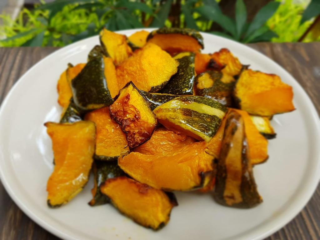 Roasted Rosemary Spiced Pumpkin Recipe | Elika Tasker