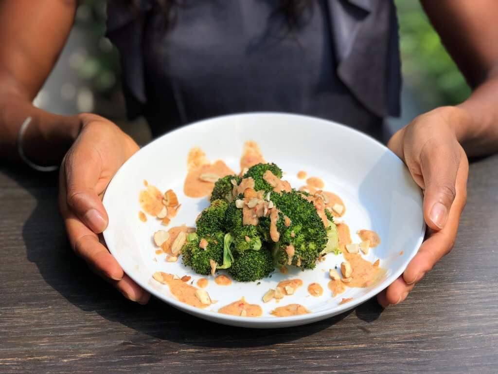 Asian Almond Sauce Recipe | Elika Tasker