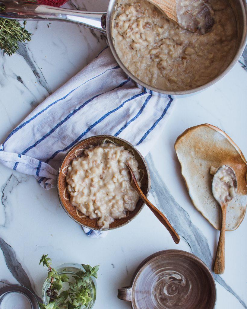 quinoa porridge recipe | elika tasker