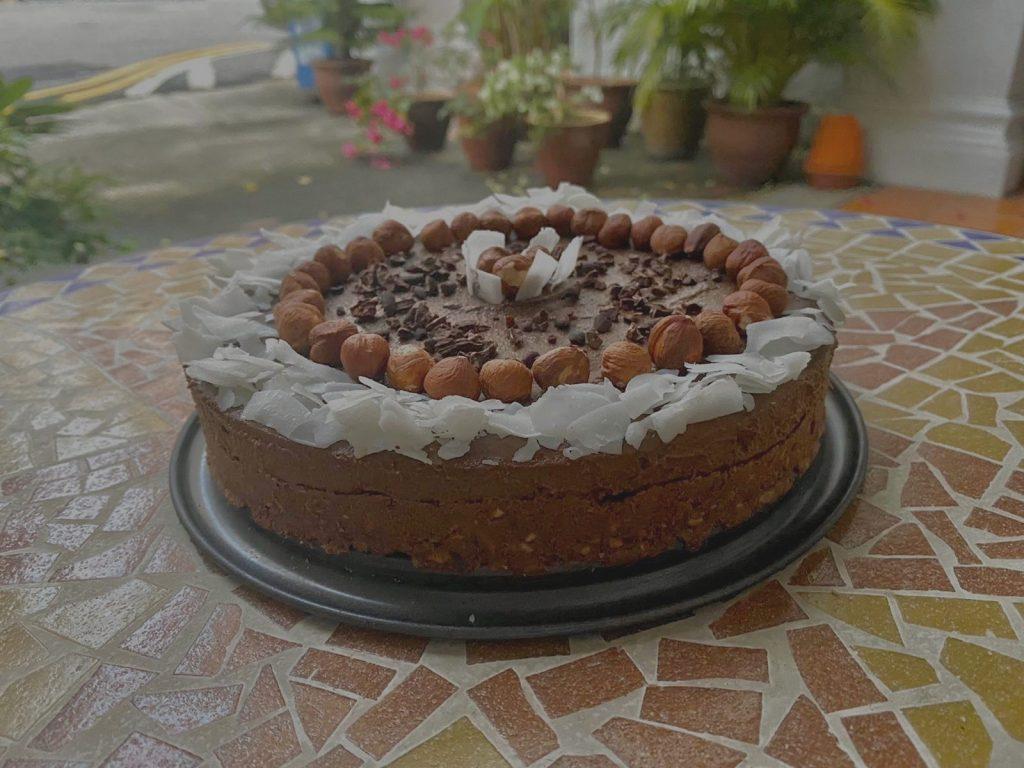 Cacao & Hazelnut Cake Recipe _ Elika Tasker (6)